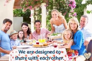 Interdependent Sharing
