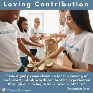 Loving Contribution