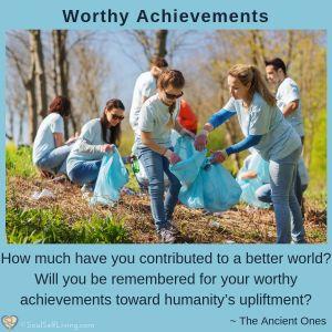 Worthy Achievements