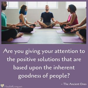 Inherent Goodness of People