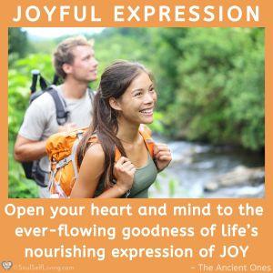Joyful Expression Soul Self Living